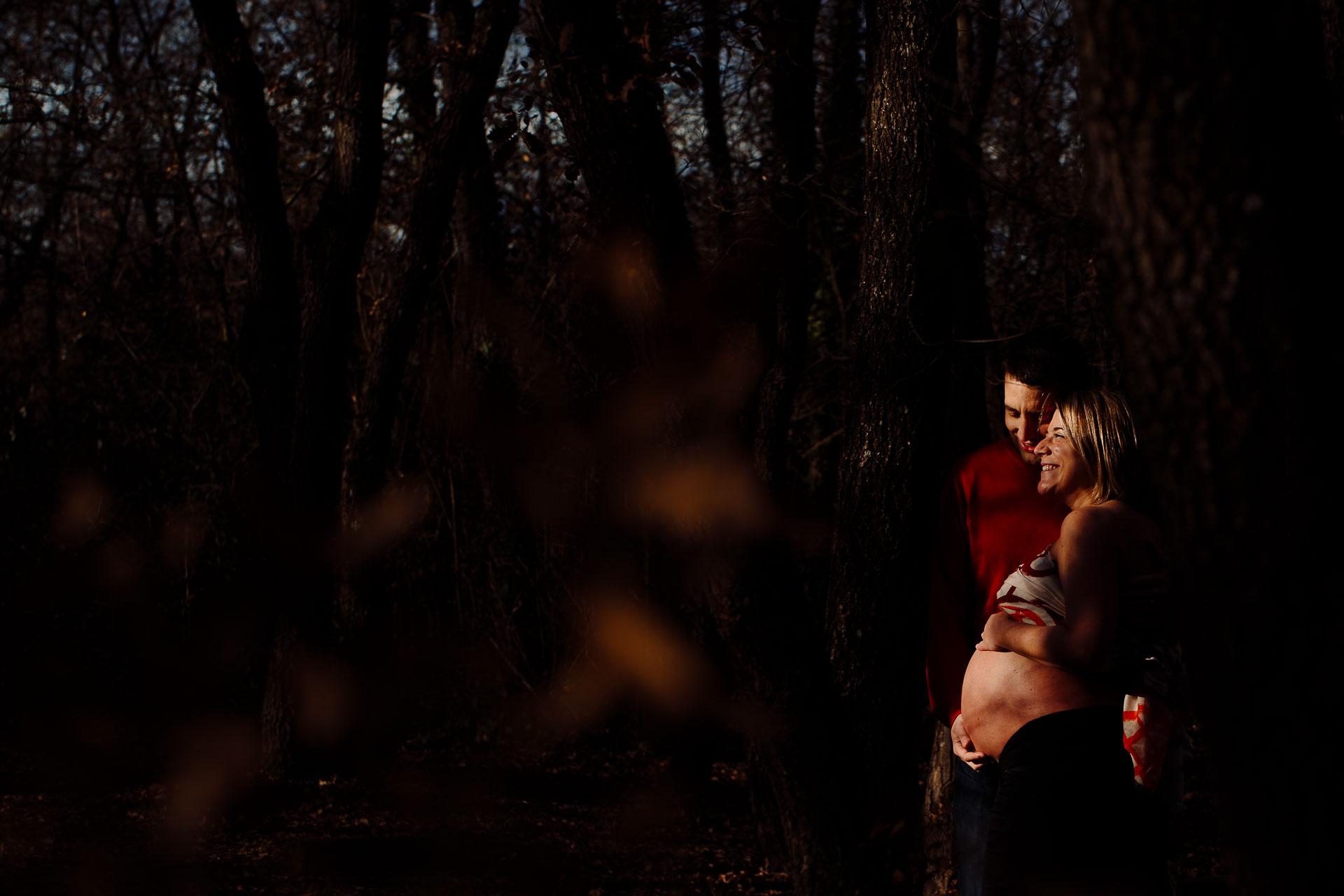 sesion fotos embarazada madrid
