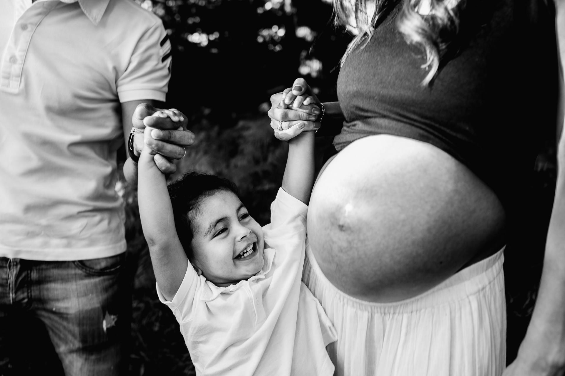 sesion de fotos de embarazo en barcelona