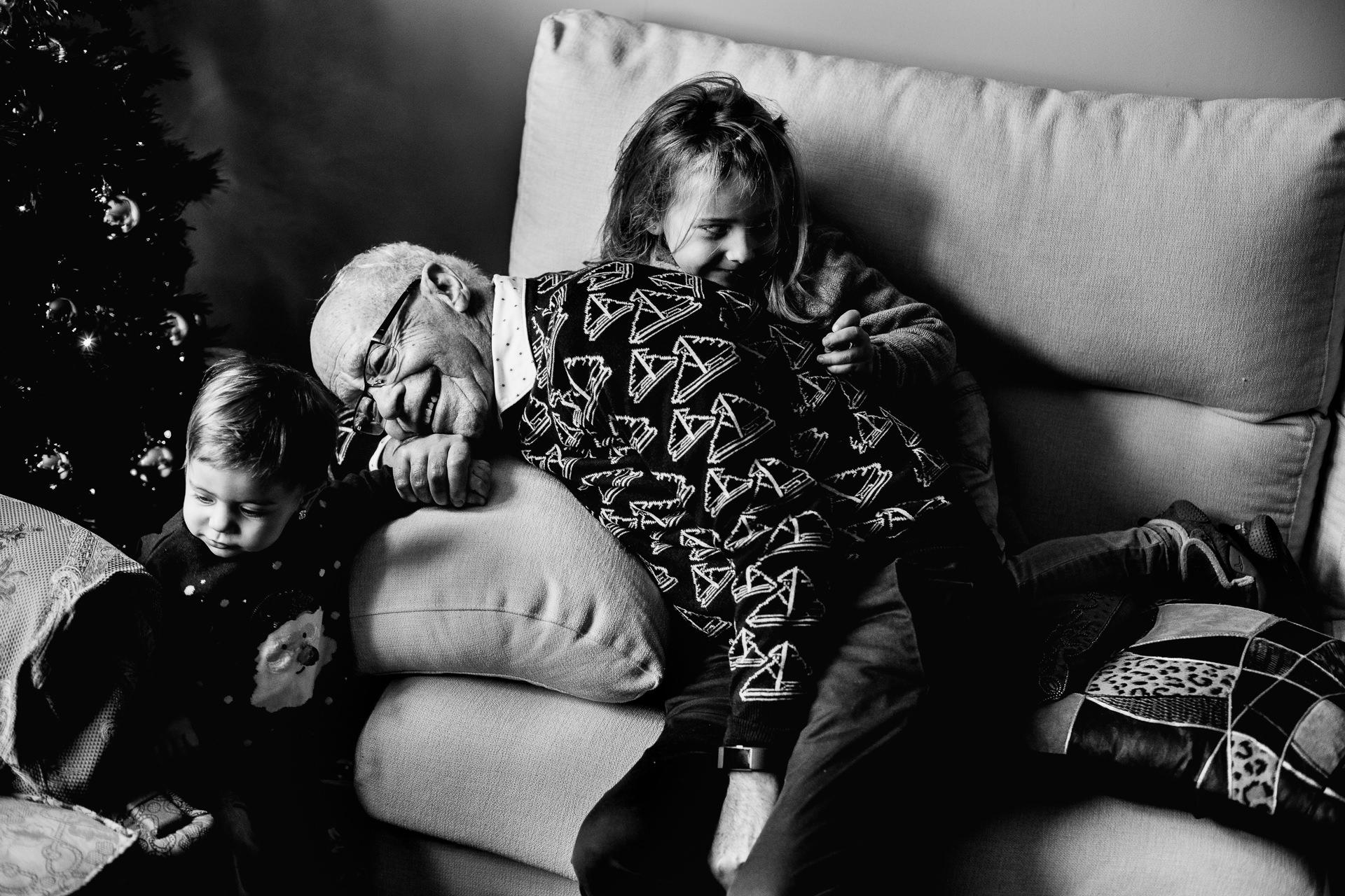 sesion de fotos con abuelos barcelona