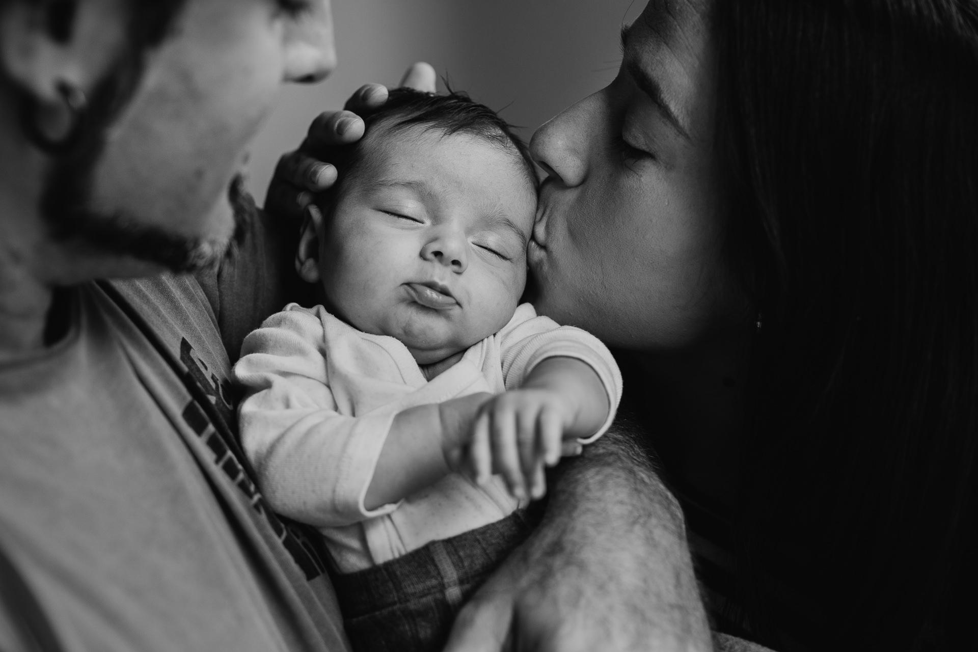 fotos de recien nacido en casa
