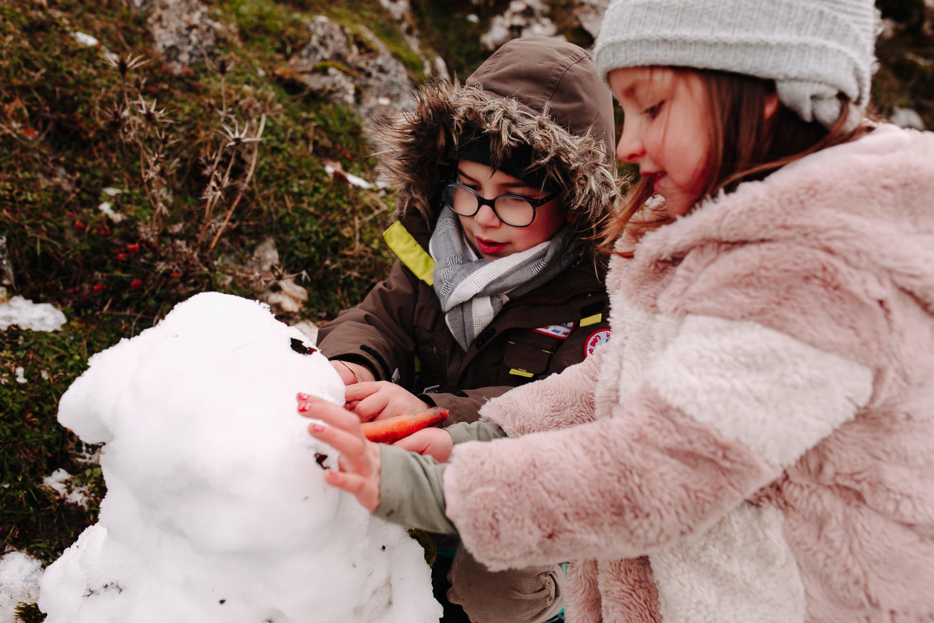 fotos de familia en la nieve barcelona