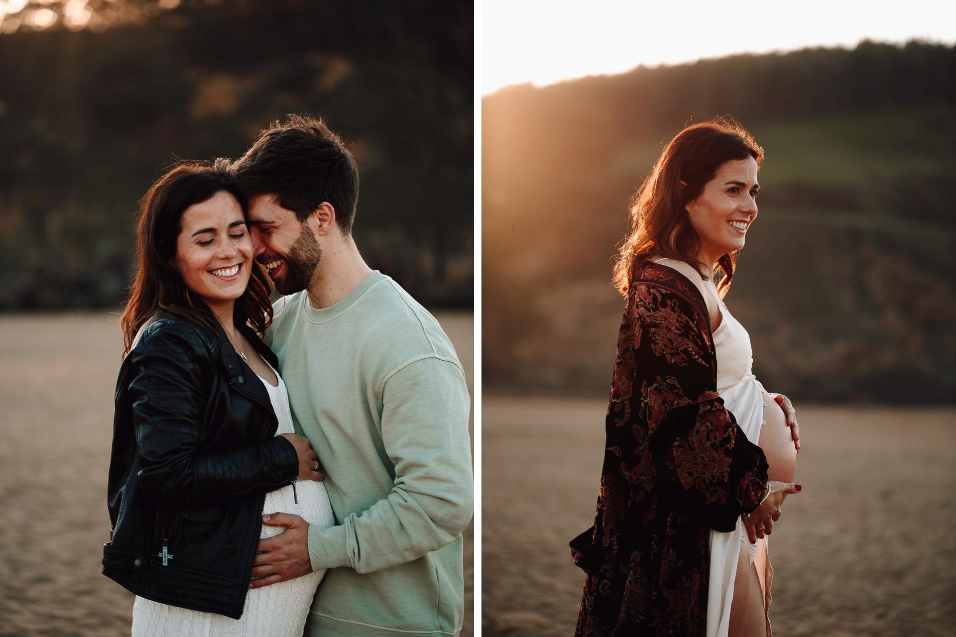 fotos de embarazo en la playa